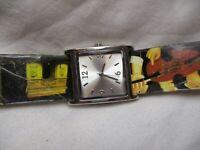 Bistro, Eiffel Tower, Mona Lisa, ARTSY Wristwatch