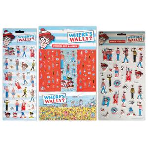 Where's Wally Stickers Mega Value Set