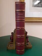Wells Cathedral History & Statutes Illustrated Folio 1881 Fine Binding Architect