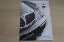 96883) Lancia Lybra + SW - Preise & tech. Daten & Ausstattungen - Prospekt 08/20
