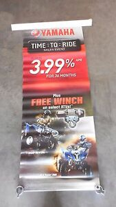 Yamaha Grizzly 700 FI EPS Raptor 700R Dealer Exclusive Banner