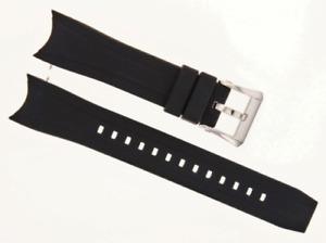 CITIZEN ECODRIVE BLACK RUBBER STRAP BAND 23MMFITS BJ2110-01E BJ2111-08E BN0085