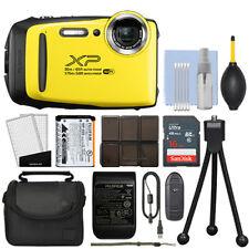 Fujifilm FinePix XP130 16.4MP Digital Camera Yellow Full-HD + 16GB Kit