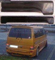 VW T 4 two barn doors REAR DOOR Spoiler lower ADDON LIP Extension skirt van