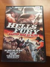 Hell's Fury: Wanted dead Or Alive (DVD) Hannah Hague, Ron Harris...80