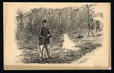 CUSS THE THING! 1883 Finch Mason - Game Shooting  LITHOGRAPH