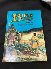 Vintage 1955 The Bible Story Volume Four By Arthur S. Maxwell Hardcover