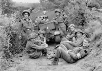 Photo WW2 débarquement de Normandie soldats us américains format 10x15 cm n478