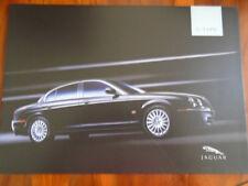 Jaguar S Type range brochure 2004 ref JLM/10/02/21/04.5