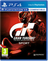 Gran Turismo Sport (PS4 PlayStation 4 Rennspiel) (NEU & OVP) (Blitzversand)