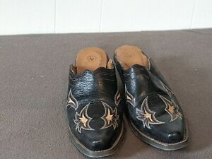 Ariat Mule /Clog Leather Women's Size 7.5 western black