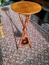 Rare Antique Hunzinger Victorian Renaissance Revival Fern Pedestal Table Stand