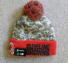 Cleveland Browns New Era NFL 2015 Salute to Service Knit Cap Hat