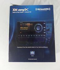 Sirius XM ONYX Satellite Radio Car Kit - New/Opened Box- Model XDNX1V1