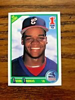 1990 Score #663 Frank Thomas RC - White Sox HOF
