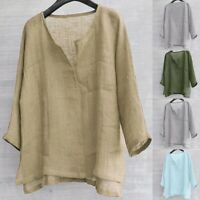 Mens Brief Breathable Comfy Solid Color Long Sleeve Loose Casual T shirt Blouse