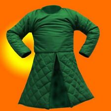 Green Medieval Renaissance Full Sleeves Gambeson in SCA-LARP HALLOWEEN GIFT