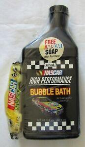 NASCAR Bubble Bath and Race Car #46 Soap in faux motor oil bottle SEALED 1996