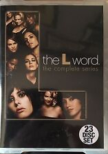 The L Word The Complete Series 23-Disc Set  in Clam Shell Box Region 4 DVD VGC