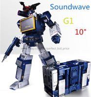 New Transformers Soundwave THF 01J MP13 Laser Bird Tape Multicolor Action Figure