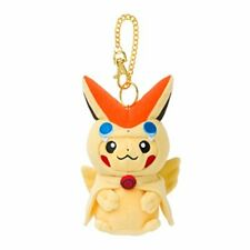 Pokemon Center Original Mascot Victini Poncho's Pikachu