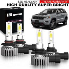 18000LM LED Headlight 9005 9006 Hi-Low Beam Bulb KIT for Chevy GMC 6500K YDW