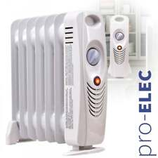55d5b9e99b369d Elite huile rempli radiateur chauffage électrique portable Thermostat 700 W  Caravane Bateau