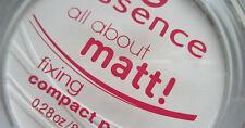 "Essence Fix & Matte! All about matt! Compact transparent Powder ""Oil Controle"""