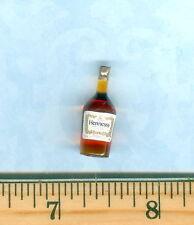 Dollhouse Miniature Size Cognac Liquor Bottle  # H