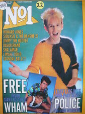 NO 1 (NUMBER ONE) MAGAZINE 15/10/83 - HOWARD JONES - LIMAHL - SIOUXSIE - UB40