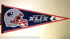 New England Patriots Pennant  NFL 2014 AFC Conference Champions Full Size