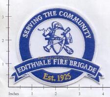 Australia - Edithvale Fire Brigade Fire Dept Patch