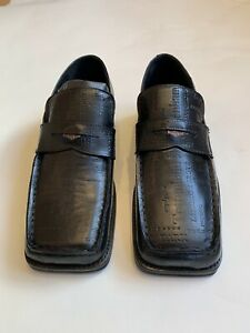 martine rose roxy embossed text loafer Size 43 Black