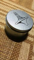 Spinning Top Toy Vintage Aloy Silver Spinner With Retail Metal Box Children Toys