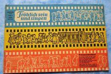 Zeitschrift Fröhlich sein und singen 1964 Heft 4 FRÖSI Paramon Esel und Tiger