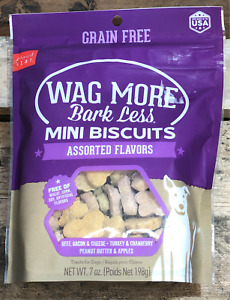 Cloud Star Wag More Bark Less Mini Biscuits-Assorted Flavors
