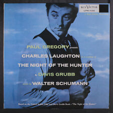 Robert Mitchum: Night Of The Hunter (soundtrack) Lp (Australia, Mono, sm tobc)