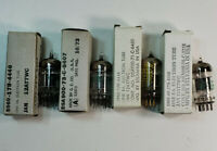 Lot of 4 12AT7WC Electron Vacuum Tubes
