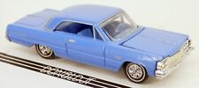 Racing Champions 1964 Chevrolet Impala 2-Door Weird Blue '64 Chevy 1/64 Scale