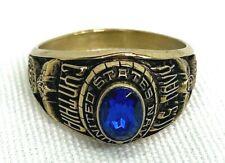 Vintage Us Naval Named Female Ring