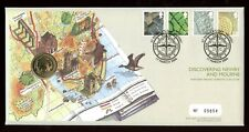 Great Britain - 2006 FDC -  Northern Ireland Definitive plus £1 Coin