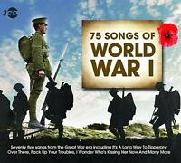 75 Songs of World War 1 The Great War Era 3 CD Set Pack Up Your Troubles +More
