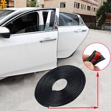 5M / 16FT Black Car Door Edge Protector Strip Scratch Guard Moulding Trim Cover
