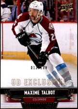 2013-14 UD MAXIME TALBOT #298 EXCLUSIVES #013/100 (REF 12086)
