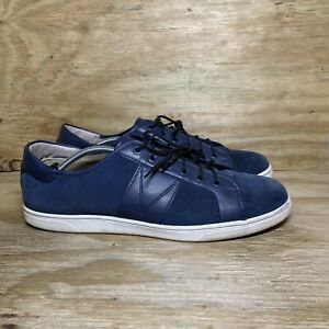 Vionic Jerome Suede Shoes Mens Size 13 Blue Low Top Sneakers