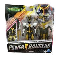 POWER RANGERS Deluxe Beast Morphers Steel Robot Ranger Action Figure NEW Sealed