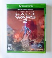 Halo Wars 2 Ultimate Edition Microsoft Xbox One XB1 Video Game 2017 New Sealed