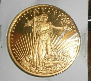 US 1907 20 DOLLARS COIN COPIE COIN (NOT GOLD)