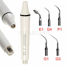 Dental Manipolo Ablatore Ultrasonic Scaler Handpiece EMS WOODPECKER + 5 Tips SP