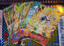 DRAGON BALL Z DBZ HEROES JAAKURYU MISSION PART 2 CARD REG CARTE HJ2 REGULAR SET